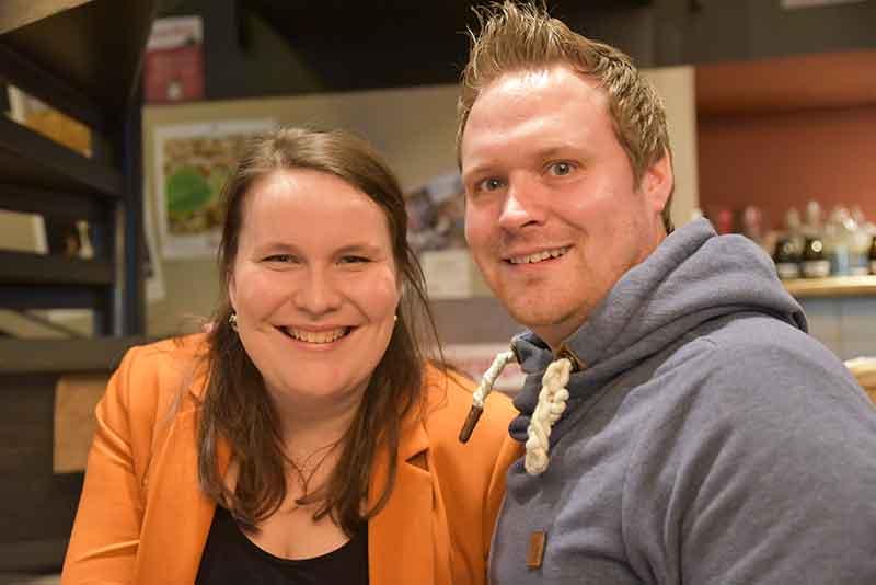 Theresa Gröninger und Simon Zeimke